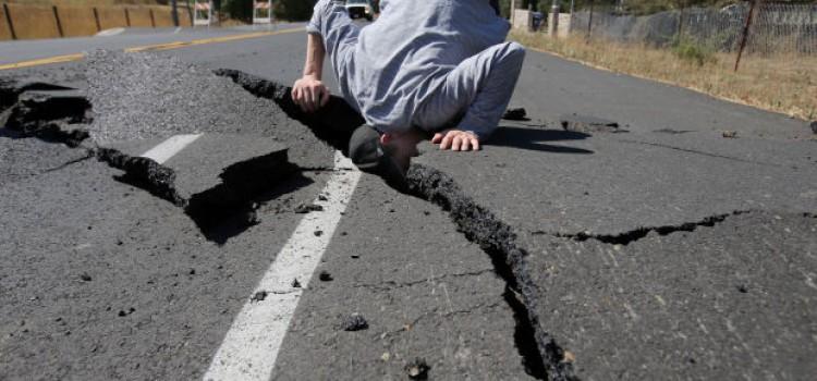 Earthquake Rocks California on New Years Day