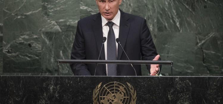 Putin: Syrians Must Decide Own Political Destiny